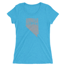 Nevada LIVIN Grey Logo Ladies' short sleeve t-shirt (8 colors available) - State Of Livin