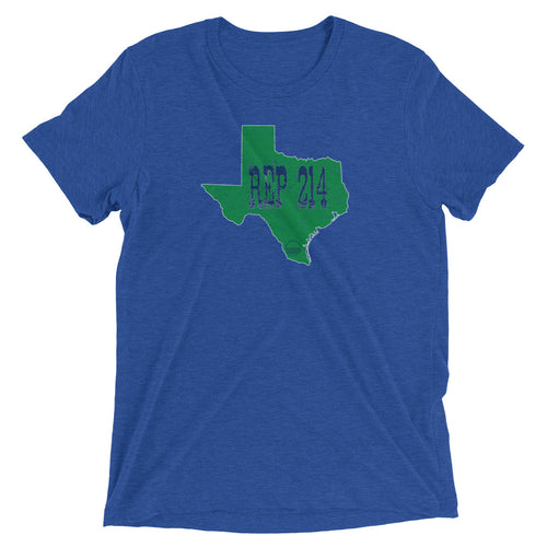 Dallas REP 214 Unisex Short sleeve t-shirt - State Of Livin