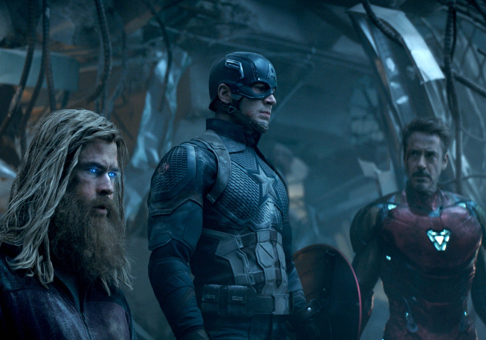 THOR, CAP AND TONY