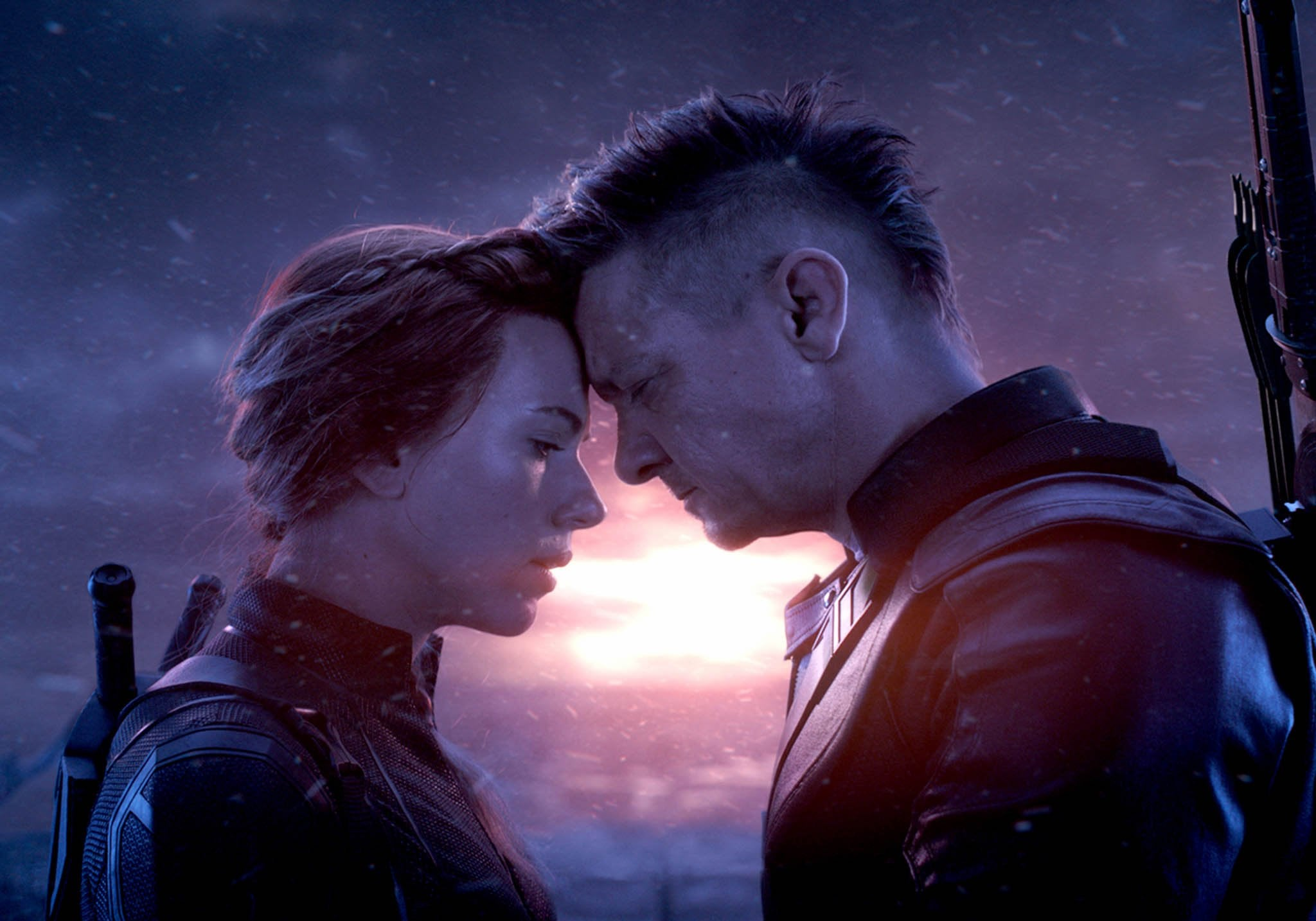 NATASHA AND CLINT SAY GOODBYE