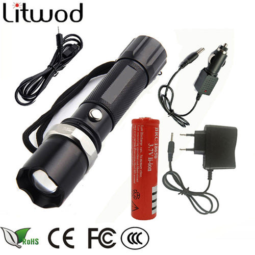 portable light LED Tactical Flashlight Torch