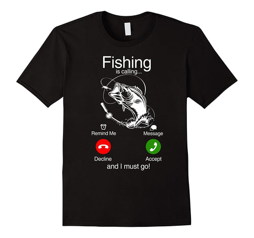 Yes i Accept Fishing Call T-Shirt