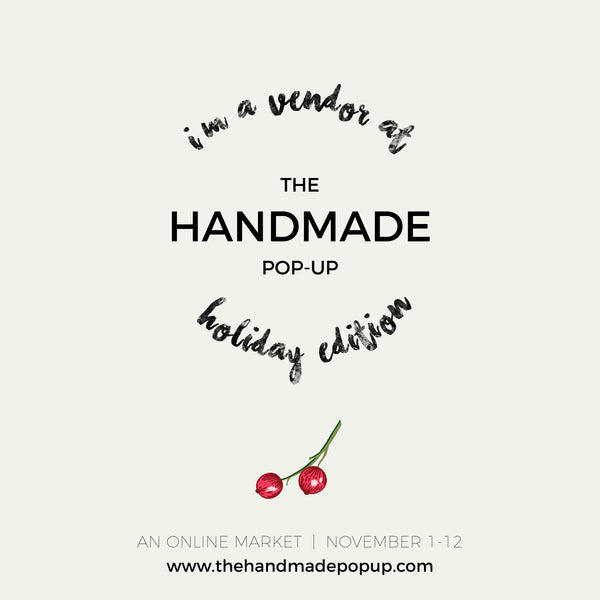 Jewel Posse to Sell at Handmade Pop-Up's Online Holiday Market