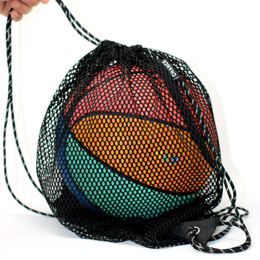 Drawstring Mesh Ball Bag