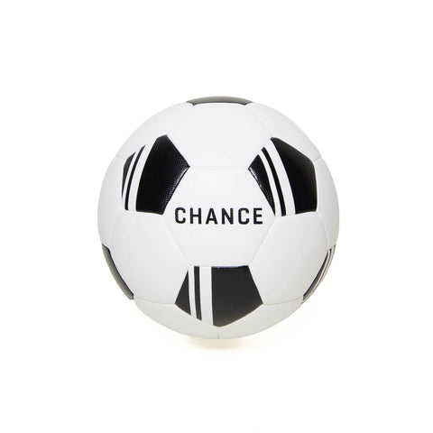 CHANCE Felix Soccer Ball White/Black Main