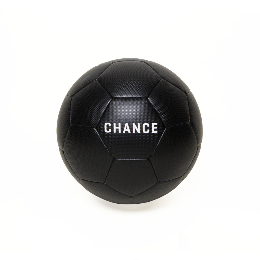 CHANCE Rey Soccer Ball All Black Main