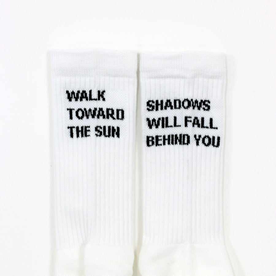 Walk Toward the Sun Socks