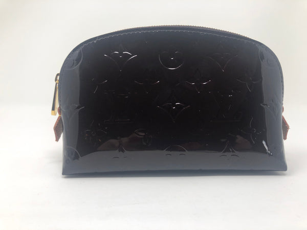 Louis Vuitton Vernis Makeup Bag in Amaranth