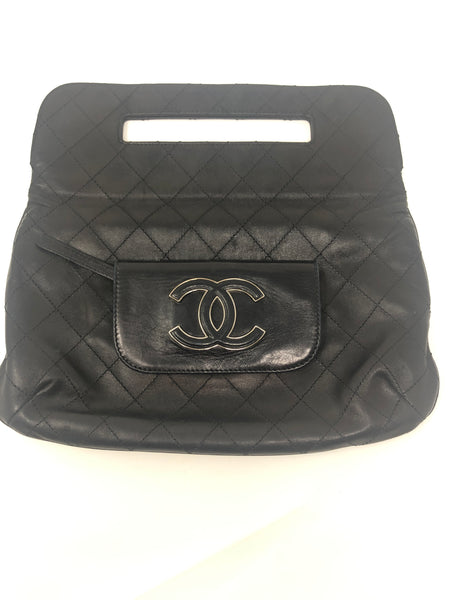 Chanel Hamptons CC Foldover Clutch