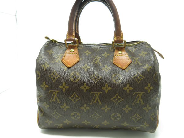 LOUIS VUITTON MONOGRAM SPEEDY 25 VINTAGE