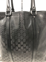 GUCCI LARGE BLACK TOTE