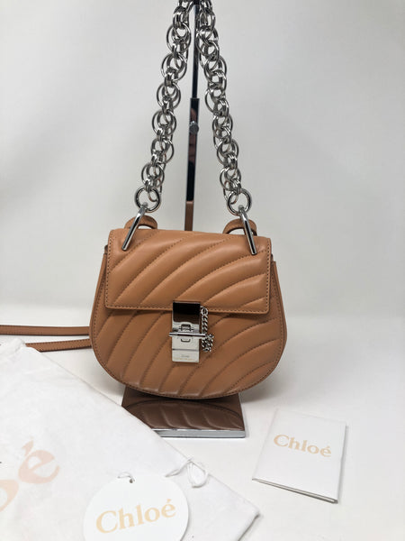 Chloé Drew Bijou Quilted Leather Crossbody