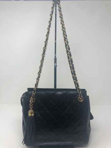 Chanel Caviar Matelasse Shoulder Bag