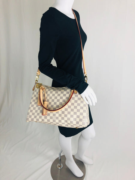 LOUIS VUITTON LYMINGTON CROSSBODY ROSE BALLERINE TOTE