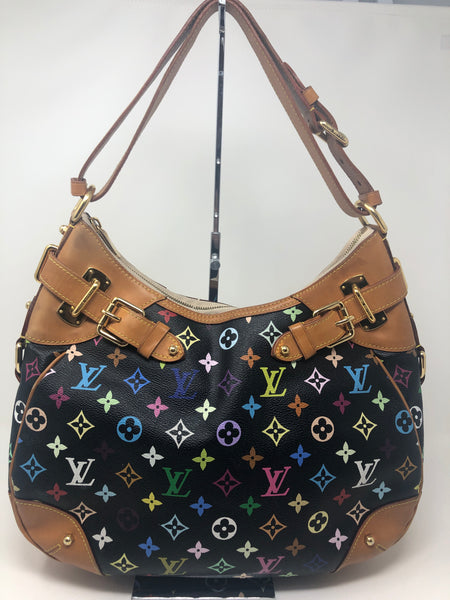 Louis Vuitton Greta - Black Multicolor