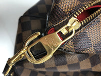 LOUIS VUITTON DAMIER EBENE  EVORA GM