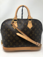 Louis Vuitton Alma with Crossbody Strap