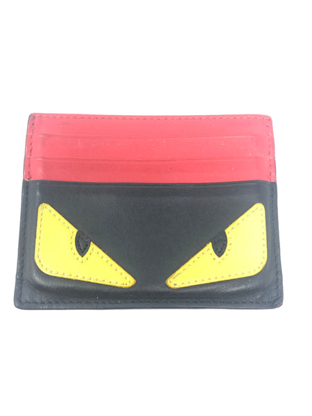 Fendi Eyes Card Holder