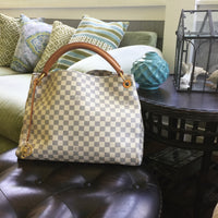 LOUIS VUITTON ARTSY MM DAMIER AZUR