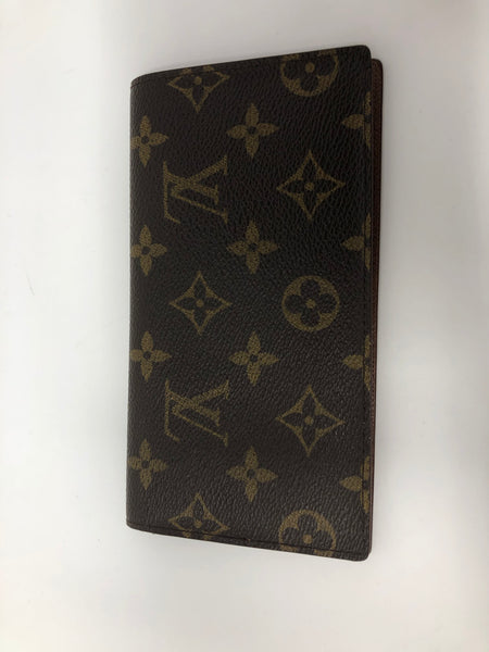 LOUIS VUITTON MONOGRAM CHECKBOOK COVER