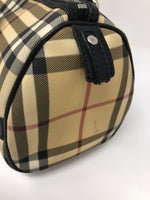 BURBERRY NOVA CHECK BARREL BAG