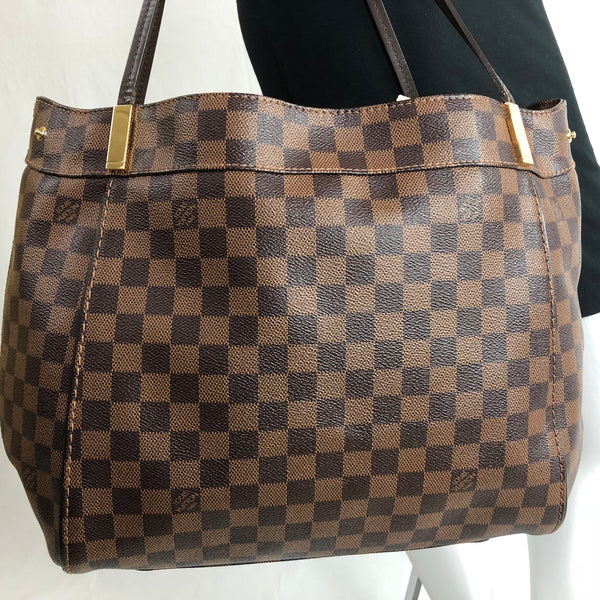 3459ac2b38ea LOUIS VUITTON MARYLEBONE GM DAMIER EBENE - UP TO 70% OFF AT UPTOWN