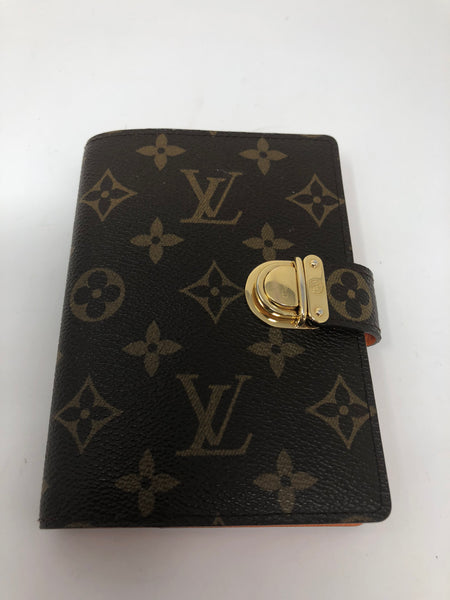 LOUIS VUITTON MONOGRAM SMALL RING KOALA AGENDA