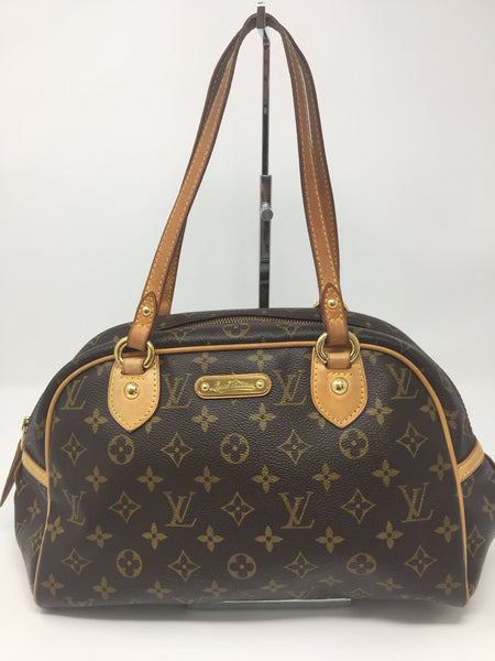RESALE LOUIS VUITTON MONTORGUEIL PM SATCHEL