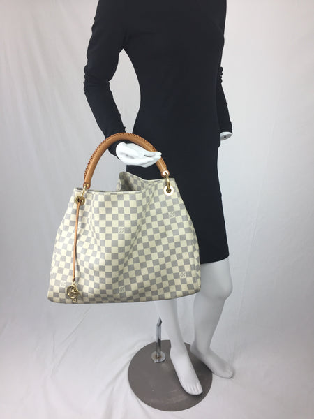 9fc178138 LOUIS VUITTON ARTSY MM DAMIER AZUR - UP TO 70% OFF AT UPTOWN! -