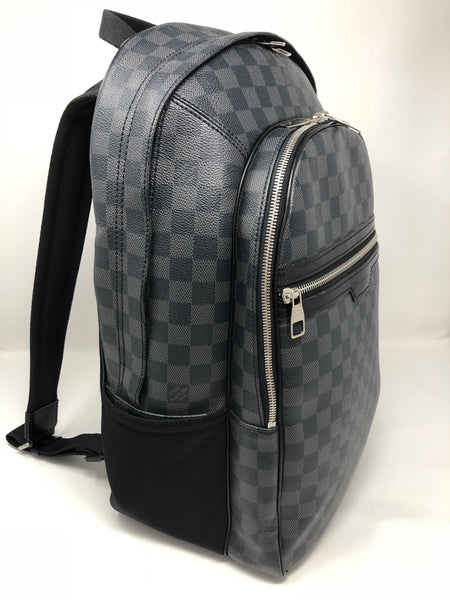LOUIS VUITTON MICHAEL GRAPHITE CANVAS BACKPACK