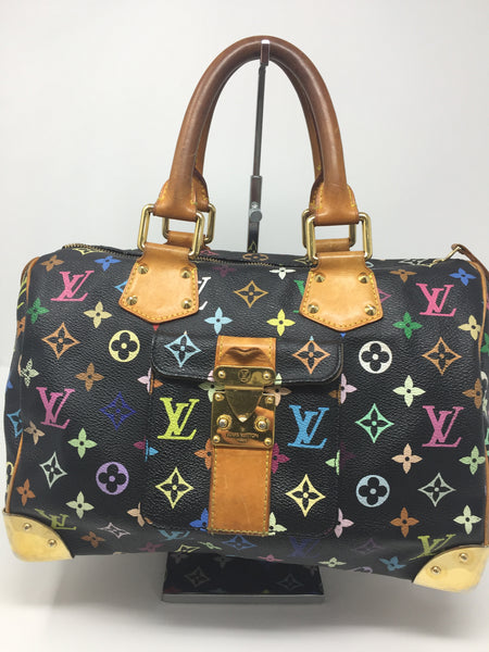 LOUIS VUITTON MULTICOLORE NOIR SATCHEL