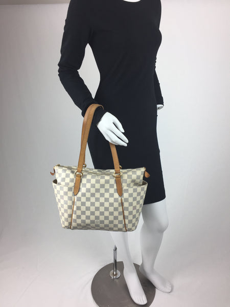 ff613db6db45 LOUIS VUITTON TOTALLY PM DAMIER AZUR - UP TO 70% OFF AT UPTOWN!