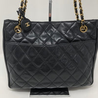 CHANEL QUILTED SHOULDER TOTE
