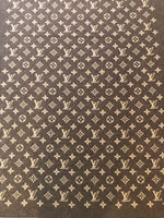 LOUIS VUITTON MONOGRAM WOOL / ANGORA BLANKET