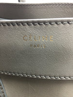 CELINE CALFSKIN LUGGAGE TOTE TAUPE