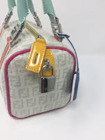 FENDI SEQUIN BAULETTO BOSTON BAG