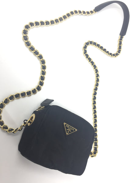 PRADA TESSUTO SMALL CROSSBODY