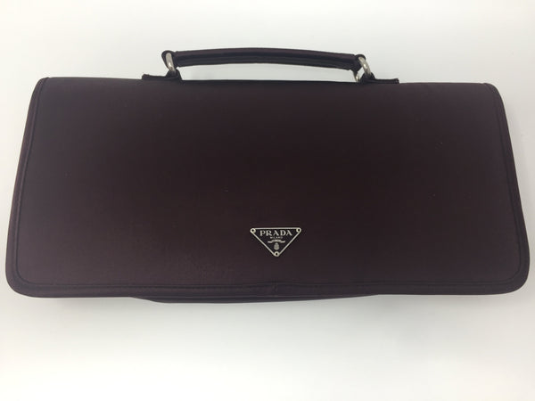PRADA SATIN CLUTCH