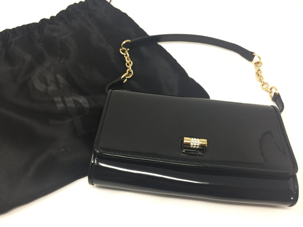 YVES SAINT LAURENT PATENT CLUTCH