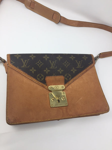 LOUIS VUITTON VINTAGE SAC BIFACE CLUTCH