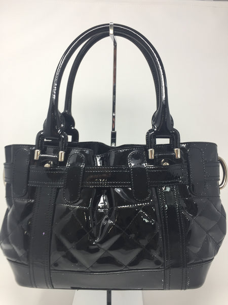 a4fb1064fe30 BURBERRY PATENT LEATHER HANDBAG - Up to 70% off at Uptown