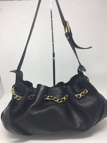 16223f18e036 BURBERRY LEATHER SHOULDER BAG - Up to 70% off at Uptown - Guaranteed ...