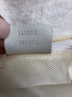 GUCCI WHITE TERRY CLOTH TOTE