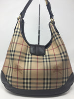 BURBERRY PLAID HOBO