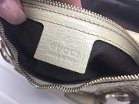 GUCCI HORSEBIT HOBO BAG CREAM
