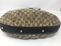 GUCCI HOBO BROWN