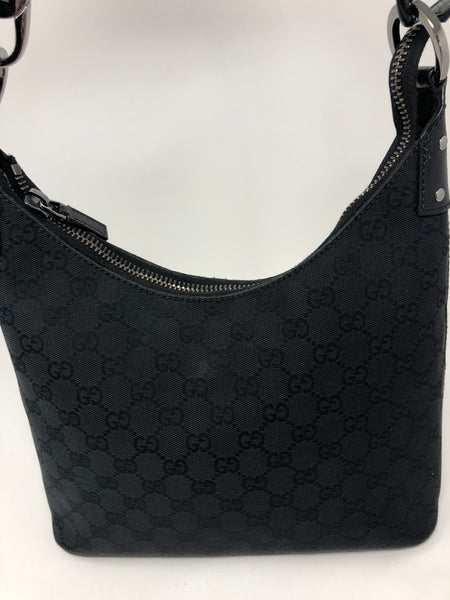 GUCCI BLACK HOBO