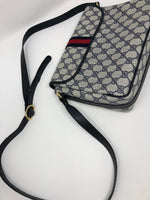GUCCI NAVY VINTAGE CROSSBODY