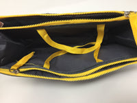 Handbag Insert-Cosmetic Bag with two zipper pockets