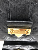 LOUIS VUITTON SAINT SULPICE PM EMPREINTE NOIR